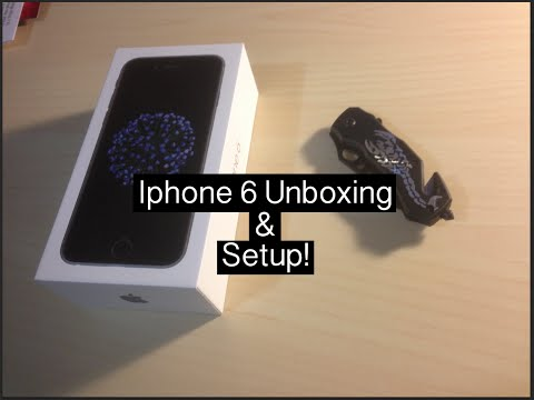 Iphone 6 Unboxing l Setup!