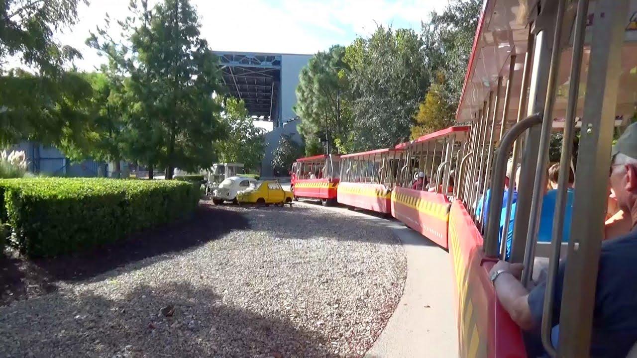 Tram Ride >> The Last Ride Ever on Backlot Tram Tour at Disneys Hollywood Studios Walt Disney World For TPR ...