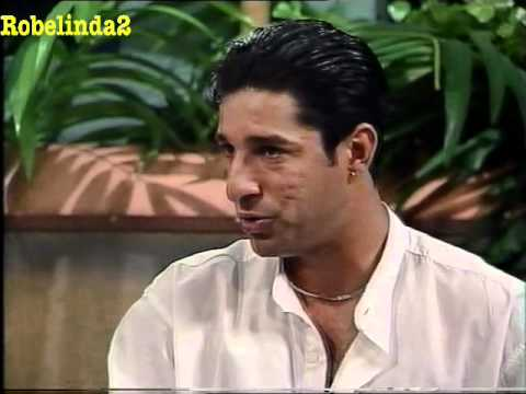 WASIM AKRAM vintage 1995 interview on Australian TV