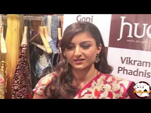 Sexy Soha Ali khan for HUE fashion's new collection