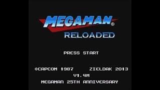 Mega Man Reloaded (NES) - Longplay