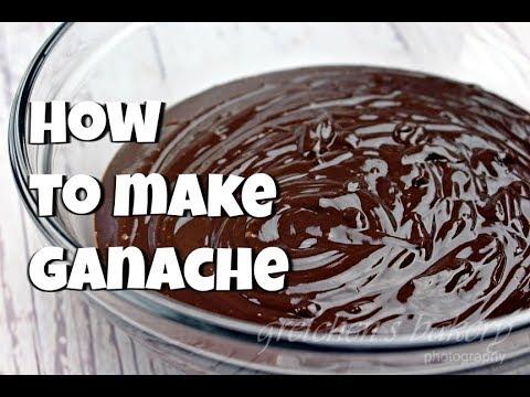 How to Make Ganache || Gretchen's Bakery