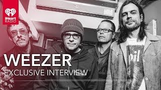 Weezer Talks Black Album, Drugs, New Tour, and More! | Exclusive Interview