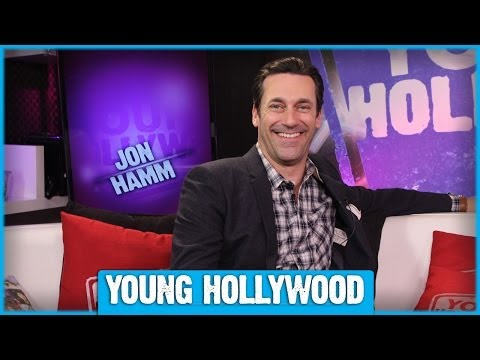 Jon Hamm on MILLION DOLLAR ARM, Nicknames, & the Perfect Batting Stance!