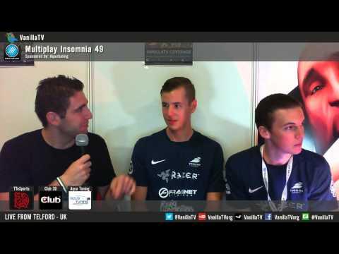 VanillaTV - i49 - HRG vs Epsilon - Upper Final - Interviews: Gear & Mike