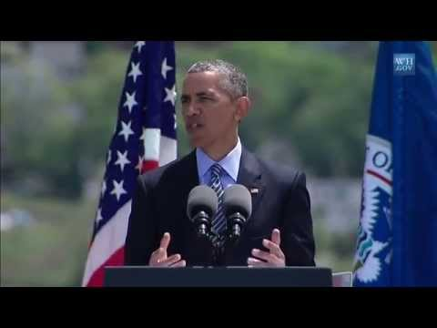 Obama Talks Climate Change Threat To Coast Guard Grads- Full Speech