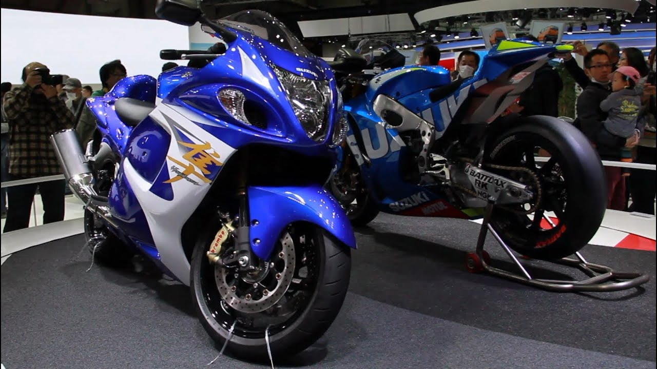 The 43rd Tokyo Motor Show 2013 】 Suzuki Hayabusa & 2015 MotoGP Test