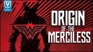 Origin Of The Merciless! (Evil Batman As The God Of War)