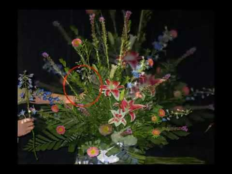 Church Wedding Decorations - Large Floral Mixed Flower Arrangements