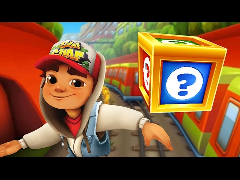 SUBWAY SURFERS GAMEPLAY PC HD ✔ JAKE AND 56 MYSTERY BOXES OPENING