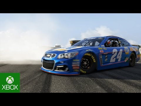 "Forza 6 NASCAR Expansion: ""Making of"" with Jimmie Johnson, Chase Elliott, and Kyle Busch"