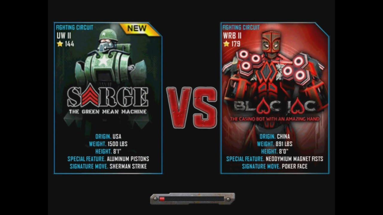 Excavator Real Steel Wrb Real Steel Wrb Sarge vs Blac