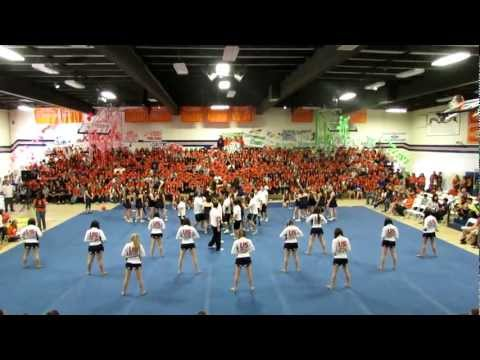 Chaminade College Preparatory Eaglemania 2012 Cheer and Dance