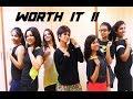 Zumba Routine On Worth It Fifth Harmony By Vijaya mp3