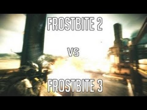 Frostbite 2 vs Frostbite 3 (BF3 & BF4) trailer Comparison