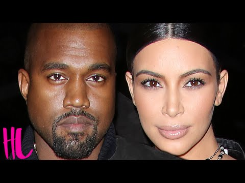 Kim Kardashian Reacts To Kanye West Divorce Rumors