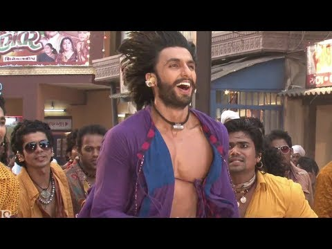 Ram-Leela song Tattad tattad making video: Ranveer Singh works...