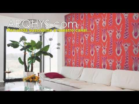 Ideas para decorar una pared con tela colonias y perfumes - Telas para decorar paredes ...