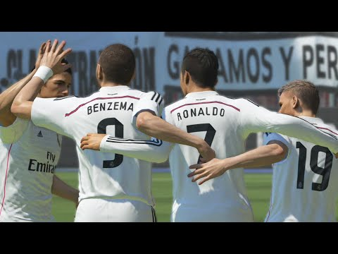PES 2015 ::: Real Madrid 4-0 FC Barcelona ::: El Clásico ::: PS4 Demo Gameplay