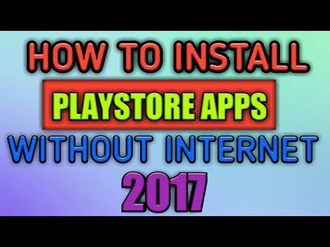 How To Install Google Play Store Apps Without Internet | Make Backup Of Your Android Apps