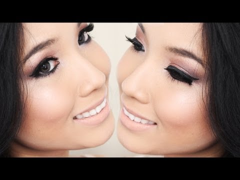 Midnight Nude Sparkle (NYE) - Makeup Tutorial (Naked 3)