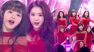 《ADORABLE》 OH MY GIRL(오마이걸) - Secret Garden(비밀정원) @인기가요 Inkigayo 20180128