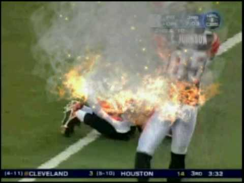 Steelers-Killer Hits !!