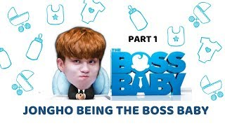 Ateez : Jongho being the BABY BOSS pt. 1