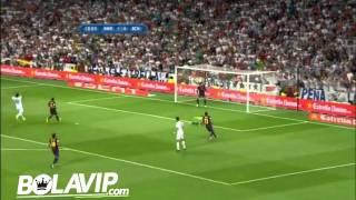 Gol de Cristiano Ronaldo - Real Madrid vs Barcelona - SuperCopa 2012 - 29-08-2012 - HD