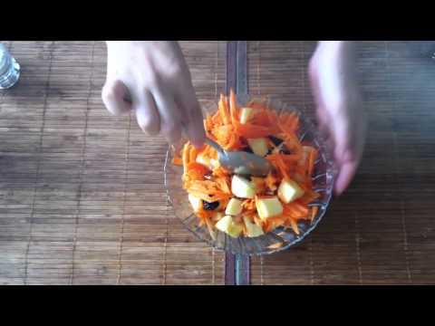 Recetas vegetarianas: Ensalada de zanahoria - ensalada vegetariana