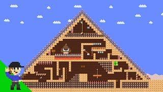 Level UP: Mario vs the Great Pyramid of Goomba