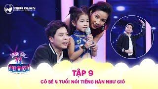 """Biệt tài tí hon   tập 9: """"Cô bé Kpop"""" 4 tuổi phạt Trịnh Thăng Bình múa ba lê siêu hài"""