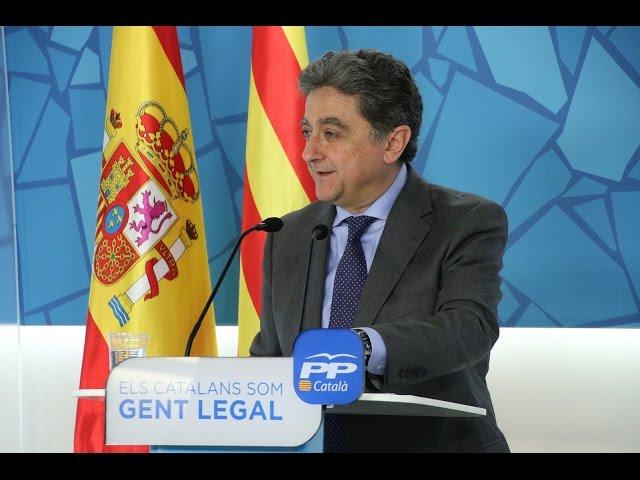"""PPC - Millo advierte que """"la obsesión separatista del Govern frena la economía catalana"""""""