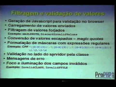 Formulários Web em PHP com plug-ins avançados e AJAX