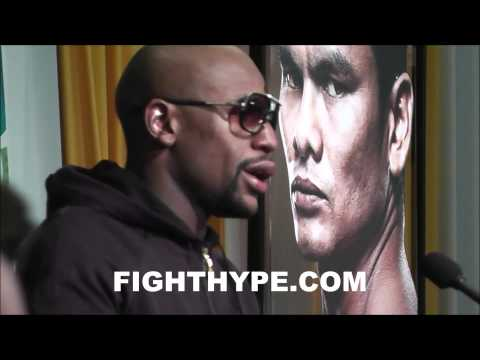FLOYD MAYWEATHER DISCUSSES GAME PLAN IN VICTORY OVER MAIDANA:  I WAS READY TO PRESS THE ATTACK