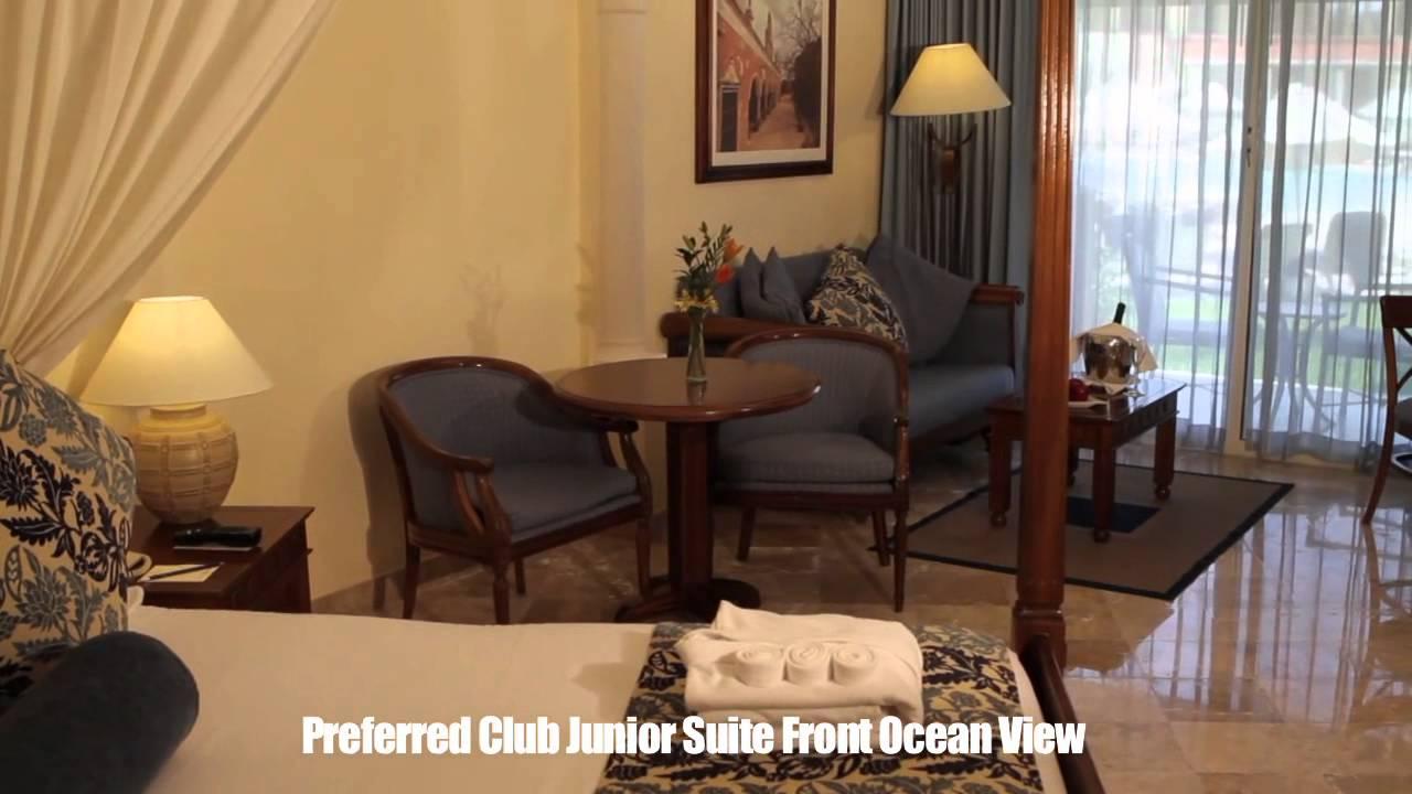 Secrets Capri Preferred Club Junior Suite Front Ocean View