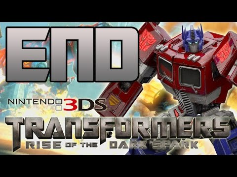 Transformers: Rise of the Dark Spark 3DS Walkthrough - ENDING - Optimus Prime Vs. Lockdown