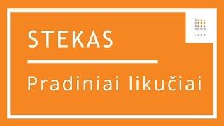 11 Pradinių likučių suvedimas buhalterinės apskaitos programoje STEKAS apskaita | LITS