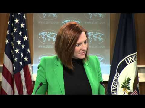Psaki: Kerry and Lavrov. 27 Feb 2015 (Ukraine)