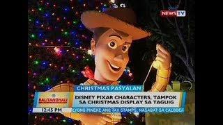 Disney Pixar characters, tampok sa Christmas display sa Taguig