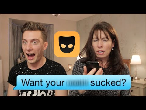 Mom Reads Son's Grindr Messages video