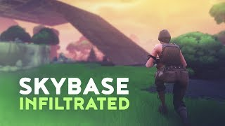 SKYBASE INFILTRATED (Fortnite Battle Royale)