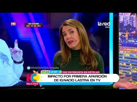 Ignacio Lastra reaparece por primera vez en televisión tras su grave accidente
