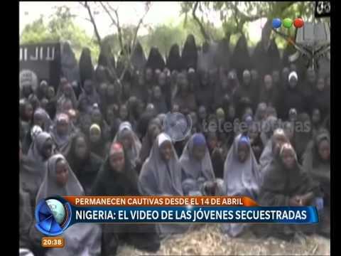 Cruzada mundial para la liberación de alumnas de Nigeria - Telefe Noticias