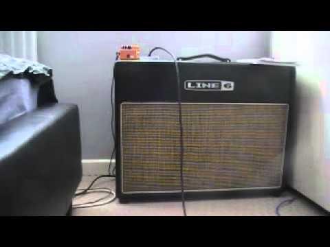 James Hetfield live clean tone MK II line 6 Flextone 3