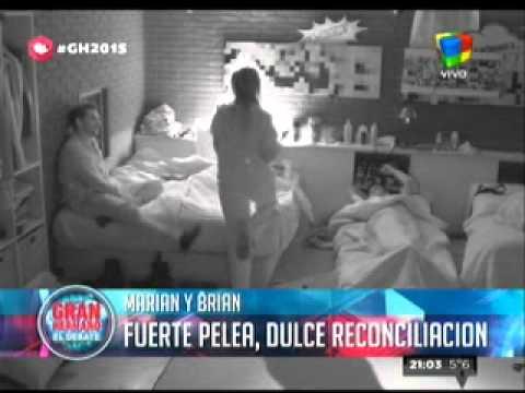"""""""Gran Hermano  2015"""" Marian: """"Me salió del alma y le dije, te amo"""""""