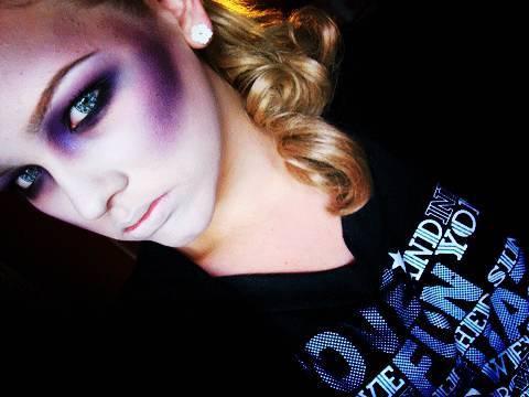 Halloween Tutorial #5 - Zombie/Dead Girl Look.
