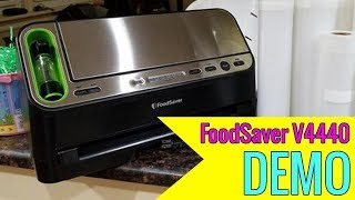FoodSaver V4440 2-in-1 Vacuum Sealer Machine 2018 review