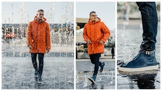 THE RAIN IS COMING! | A Wet Weather Look Book Wearing GANT | Charlie Irons
