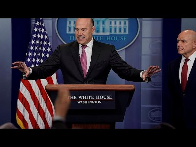 Trump economic advisor Gary Cohn resigns amid tariff row